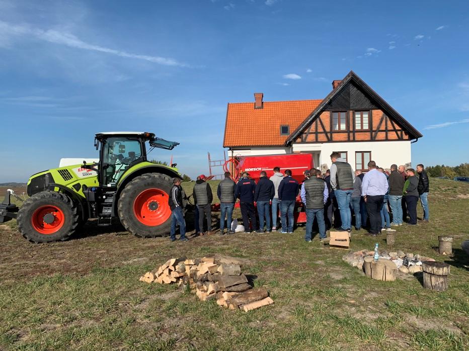 Demonstracje maszyn okiem AGRO SZNAJDER