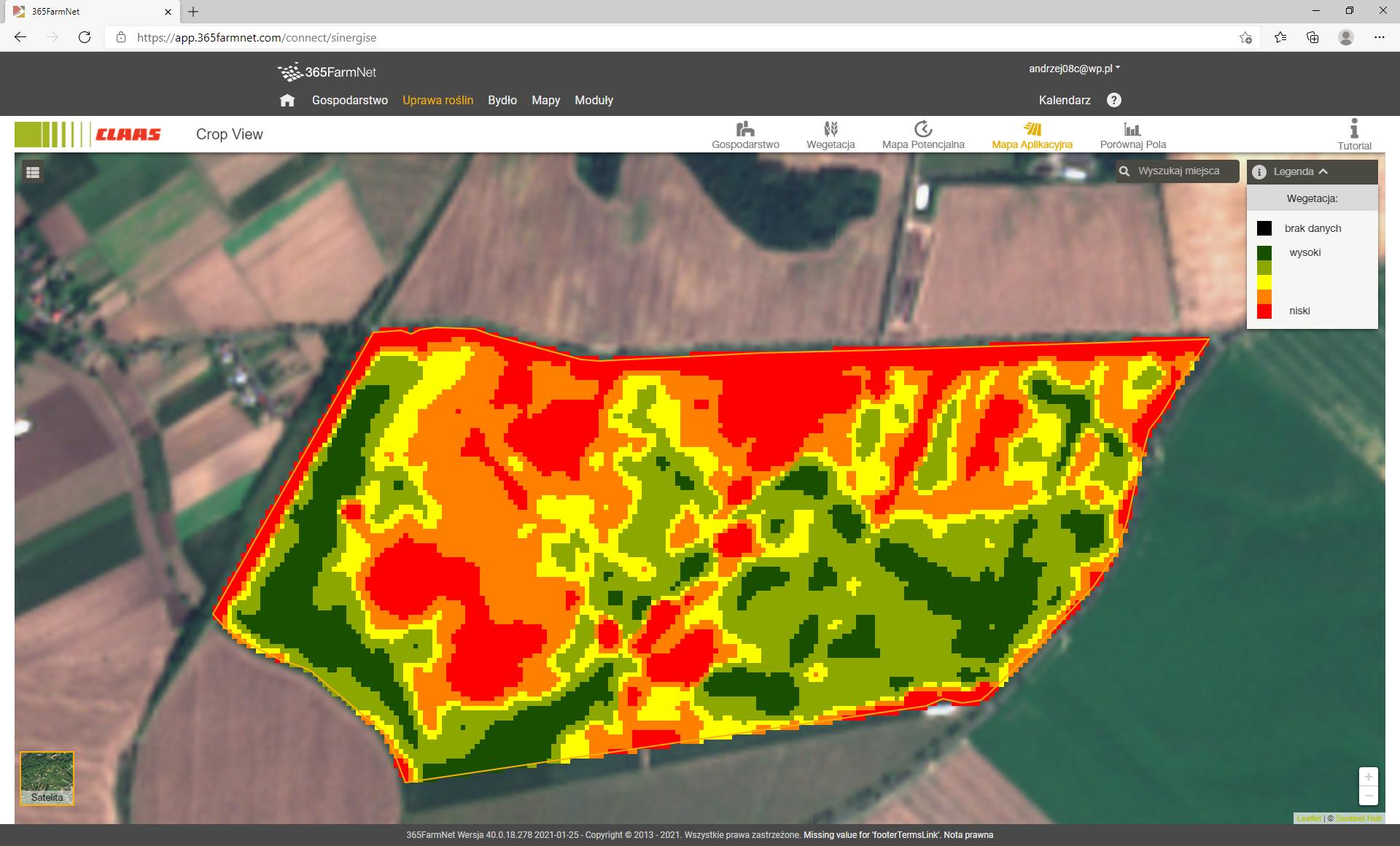 Spójrz na swoje pola z innej perspektywy i zobacz, jakie korzyści osiągniesz dzięki technologii CLAAS CROP VIEW
